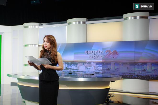 Cận cảnh buổi làm việc cuối cùng của BTV Trúc Mai tại VTV - Ảnh 3.