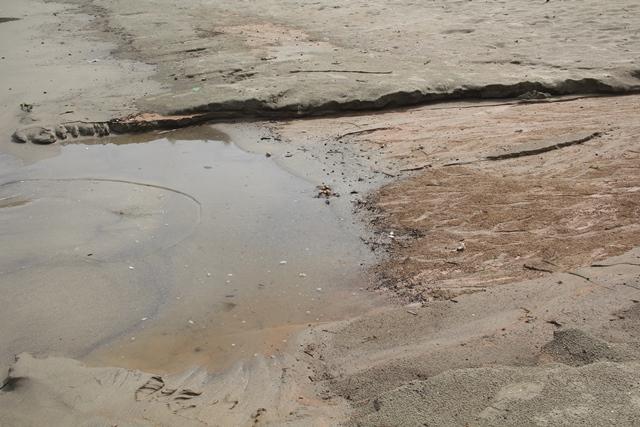 Bùn đất tại dự án biển Tiên Sa tràn xuống biển Đà Nẵng sau mưa lớn - Ảnh 5.