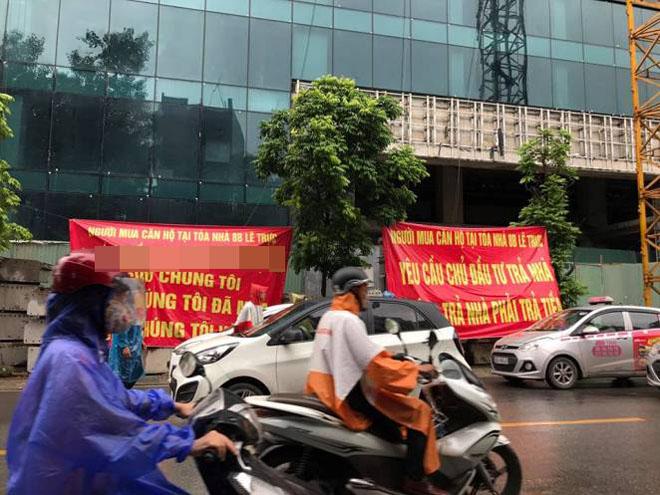 Chủ đầu tư nhà 8B Lê Trực khởi kiện, UBND quận Ba Đình: Đó là quyền của doanh nghiệp - Ảnh 1.