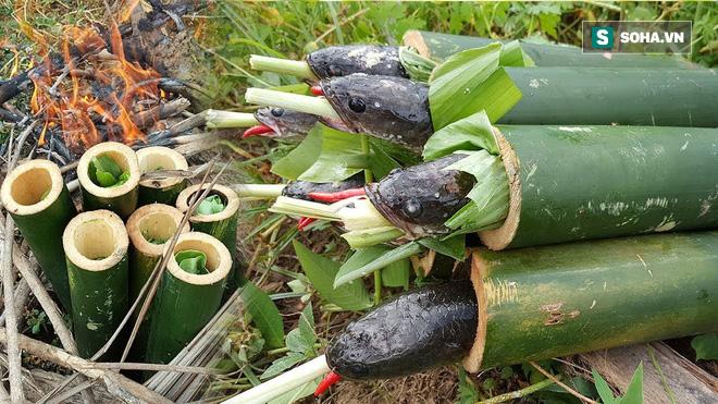 Cá nướng ống tre: Món ăn hoang dã khó quên, đậm đà hương vị thiên nhiên - Ảnh 9.