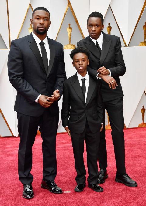 Thảm đỏ Oscar 2017: Mỹ nhân 50 Sắc Thái mờ nhạt dù mặc toàn đồ hiệu - Ảnh 8.