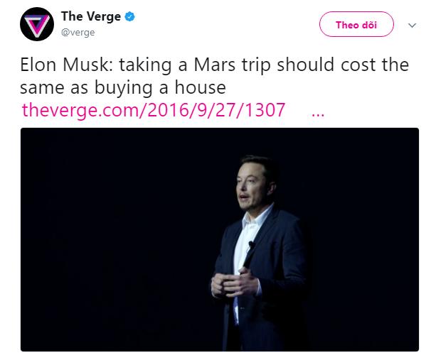 Bài diễn thuyết điên rồ của Elon Musk: 100.000 đô là có nhà ở sao Hỏa, 7 năm nữa thôi! - Ảnh 2.