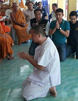 3 nhà sư Thái Lan bị bắt vì dụ dỗ mua dâm trẻ em nam - Ảnh 1.
