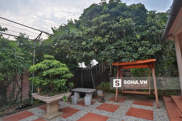 Quang Tèo gọi khu vườn này là chốn yên bình của mình. Mỗi dịp rảnh rỗi, anh lại cùng anh chị em nghệ sĩ thân thiết hoặc cùng gia đình về thăm nhà vườn, tận hưởng khoảng không gian xanh mướt, thư thái.