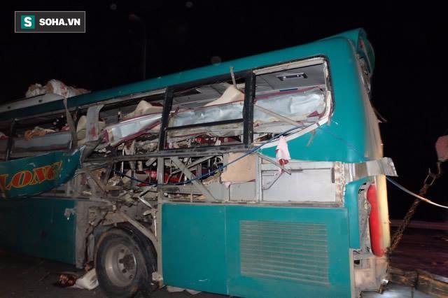 Hiện trường vụ nổ xe khách khiến 2 người tử vong ở Bắc Ninh - Ảnh 2.