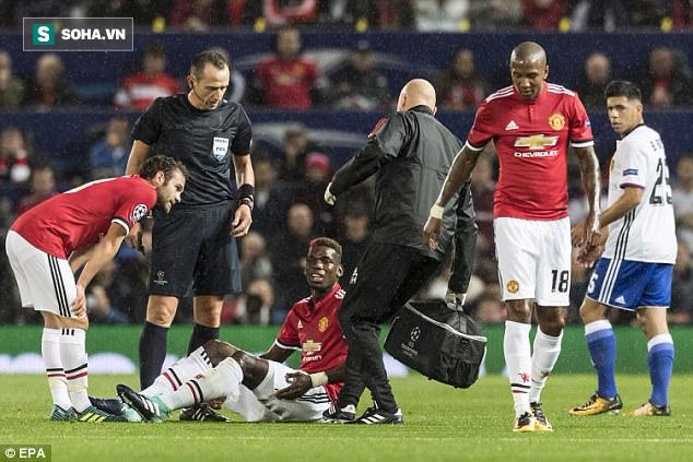 Man United nhận hung tin về Pogba sau đại thắng tại Champions League - Ảnh 1.