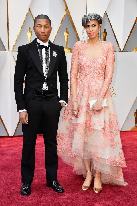 Thảm đỏ Oscar 2017: Mỹ nhân 50 Sắc Thái mờ nhạt dù mặc toàn đồ hiệu - Ảnh 9.