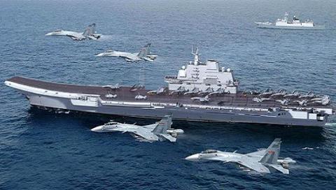 Biên đội tàu sân bay Nga - Trung: Kém xa Đệ nhất Mỹ  - Ảnh 2.