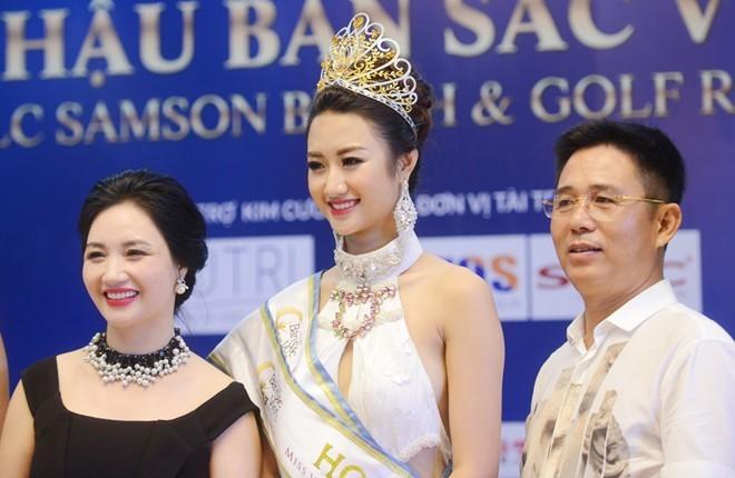 Hoa hậu Bản sắc Việt Thu Ngân bất ngờ lấy chồng doanh nhân - Ảnh 1.