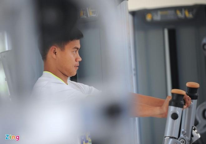 Cầu thủ trẻ HAGL nhồi thể lực trước ngày sang Hàn Quốc - Ảnh 2.