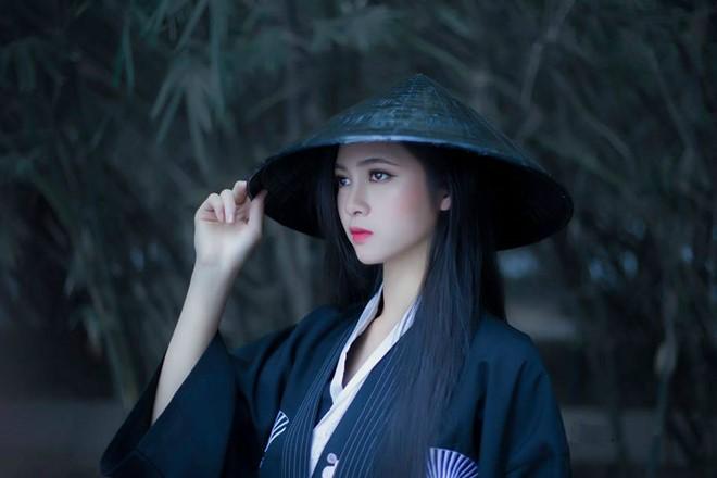 Cô gái 20 tuổi hóa thân thành nữ võ sĩ đạo xinh đẹp - Ảnh 2.