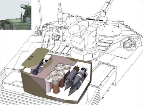 Khoang chứa đạn của tăng T-90MS đầy tuyệt kỹ - Ảnh 1.
