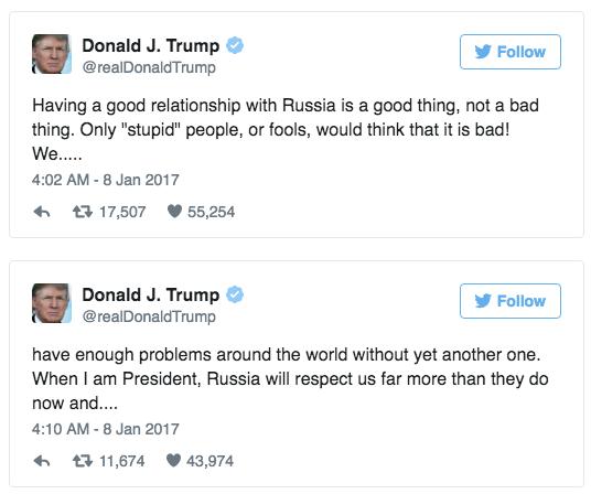 Trump: Những kẻ ngốc mới không tin vào quan hệ với Nga - Ảnh 1.