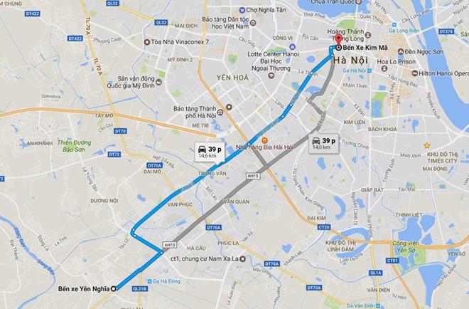 Vì sao Hà Nội chọn điểm nóng ùn tắc để vận hành BRT? - Ảnh 1.