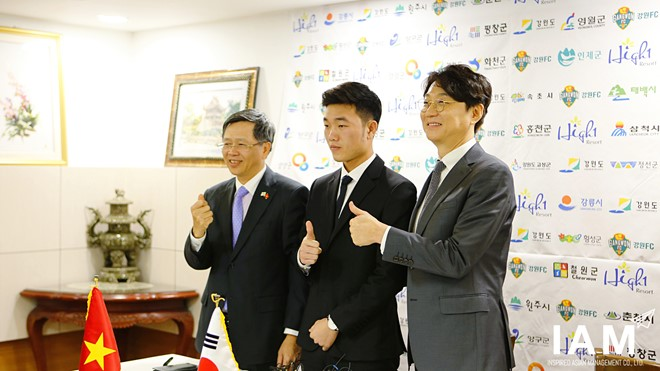 Xuân Trường sang Gangwon giống như Park Ji Sung tới MU - Ảnh 1.