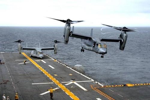 Hải quân Mỹ trang bị nhiều trực thăng cánh quạt nghiêng hiện đại - Ảnh 1.