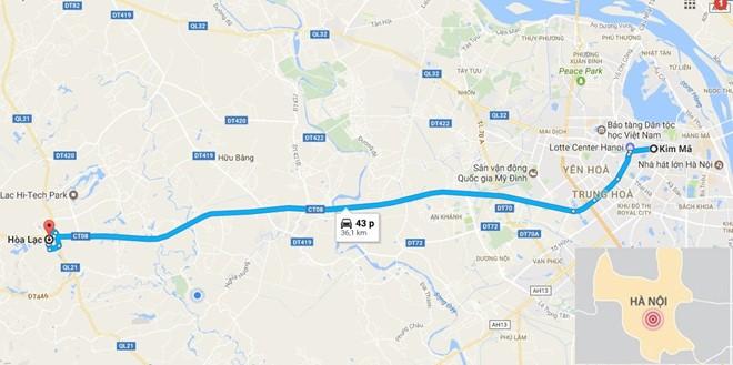 Hà Nội sắp khởi công tuyến buýt nhanh BRT thứ 2 dài 35 km - Ảnh 3.