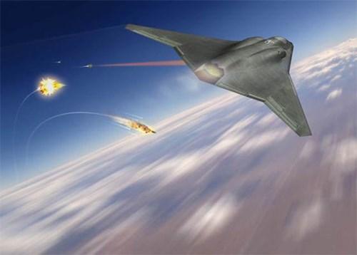 Mỹ phát triển hệ thống phòng thủ bằng tia la-de cho máy bay quân sự - Ảnh 1.