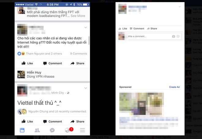 Khách hàng Viettel không truy cập được Google, Facebook - Ảnh 1.