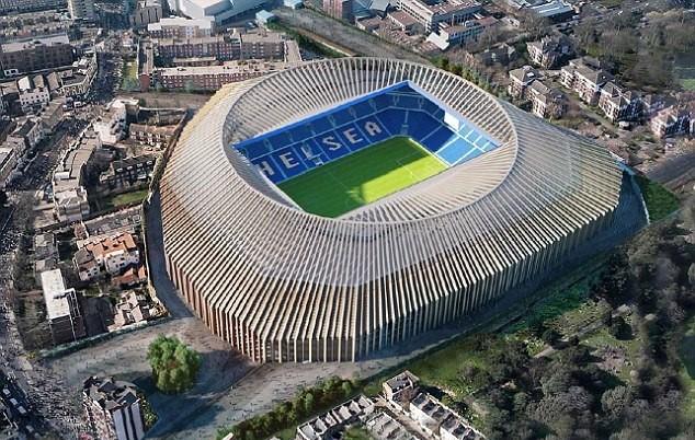 Chelsea chi 500 triệu bảng cải tạo Stamford Bridge - Ảnh 1.