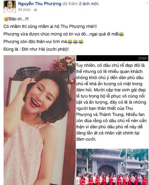 Vợ cũ phản ứng khi bị nhầm vừa làm lễ ăn hỏi với MC Thành Trung - Ảnh 1.