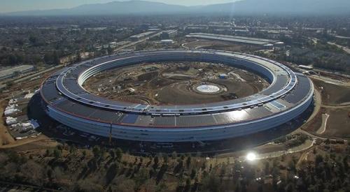 Choáng ngợp với trụ sở mới của Apple - Ảnh 2.