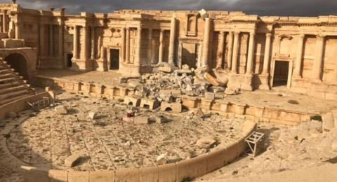 Syria giải phóng Palmyra: Đắt giá và bài học lớn - Ảnh 1.