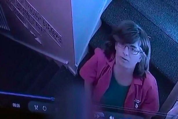 Nhân viên chăm sóc trẻ em đẩy bé gái 4 tuổi xuống cầu thang đầy thô bạo gây phẫn nộ - Ảnh 2.