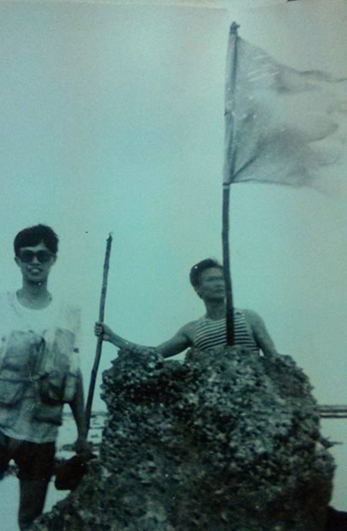 Nhật ký Trường Sa và hồi ức Gạc Ma của một cựu binh - Ảnh 3.