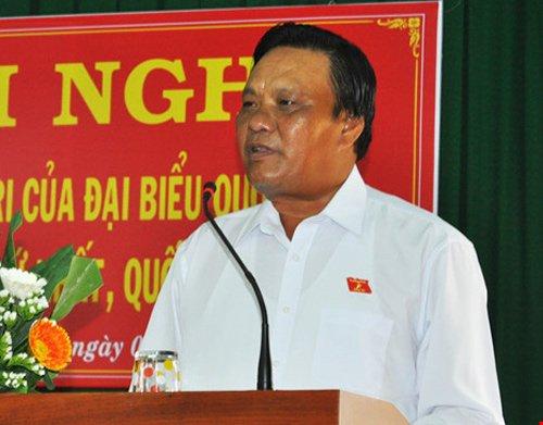 Phó bí thư Bình Định bị kiểm điểm trách nhiệm - Ảnh 1.