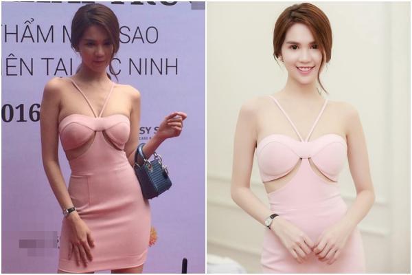 Hình ảnh cùng một sự kiện, sao Việt lại có sự khác biệt một trời một vực thế này! - Ảnh 1.