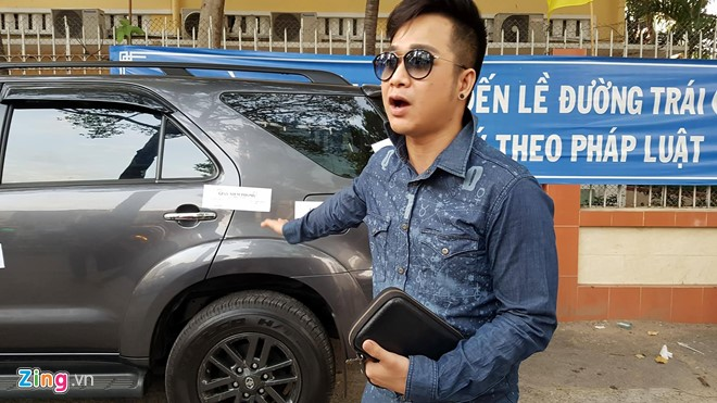 Phó chủ tịch Hải ra lệnh niêm phong xe của Quách Tuấn Du - Ảnh 2.