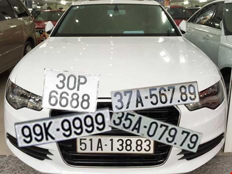 Tìm cách gỡ vướng đấu giá biển số xe đẹp - Ảnh 1.