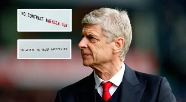 Tiết lộ BẤT NGỜ về chủ nhân thuê máy bay chở băng rôn ủng hộ Wenger - Ảnh 1.
