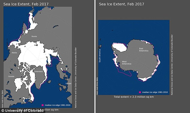 Không có El Nino nhưng nhiệt độ Trái Đất tháng 2/2017 vẫn đạt mức đáng sợ - Ảnh 3.