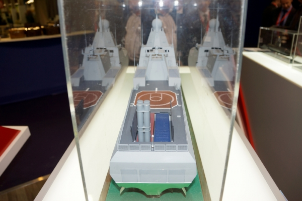 Nga giới thiệu tàu hộ vệ tàng hình tối tân mang tên lửa Club-K với HQVN tại LIMA 2017 - Ảnh 2.