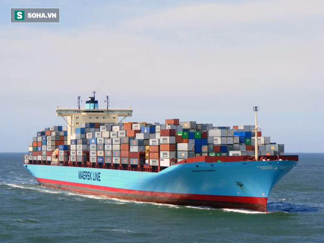 Tàu chở container vô địch thế giới: Cõng 17.603 chiếc, vẫn thừa 667 chỗ! - Ảnh 1.