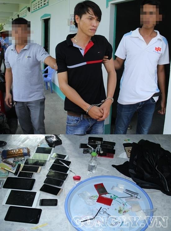 Hậu Giang: Bắt giam 4 đối tượng mua bán trái phép chất ma túy - Ảnh 1.