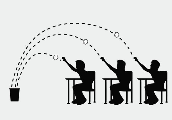 Bài học ý nghĩa từ trò chơi ném giấy vào thùng rác của thầy giáo khiến học sinh nhớ mãi - Ảnh 4.