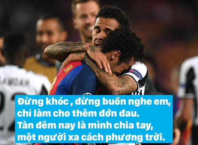 Ảnh chế: Neymar được đàn anh an ủi bằng ca khúc Vầng trăng cô đơn - Ảnh 1.
