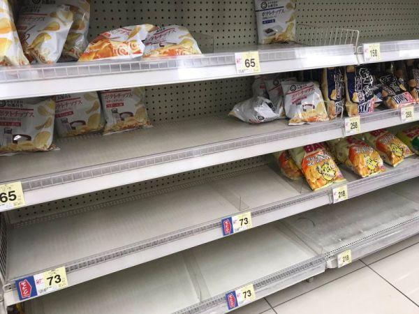 Khủng hoảng snack ở Nhật, người dân tranh giành từng gói khoai tây chiên - Ảnh 1.