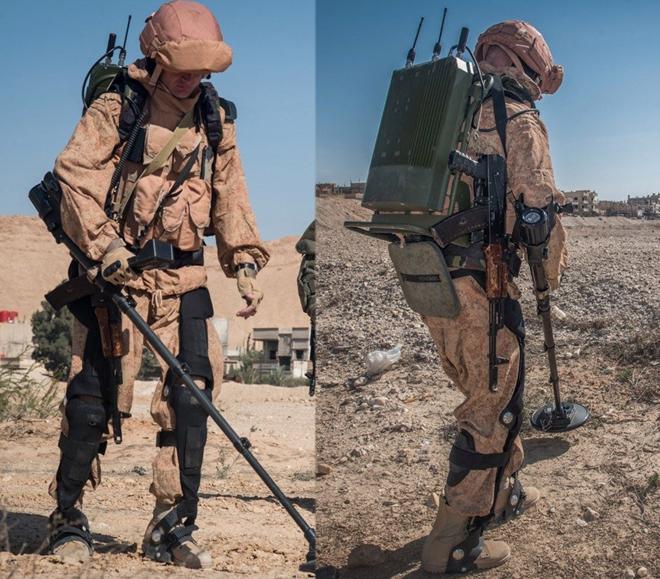 Xem công binh Nga dùng công nghệ cao tại Syria - Ảnh 5.