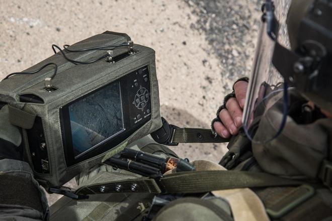 Xem công binh Nga dùng công nghệ cao tại Syria - Ảnh 3.