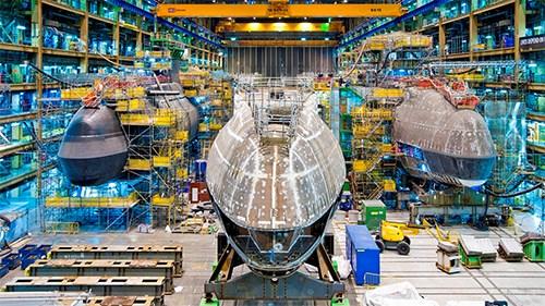 Anh đóng thêm tàu ngầm hạt nhân mới - Ảnh 1.