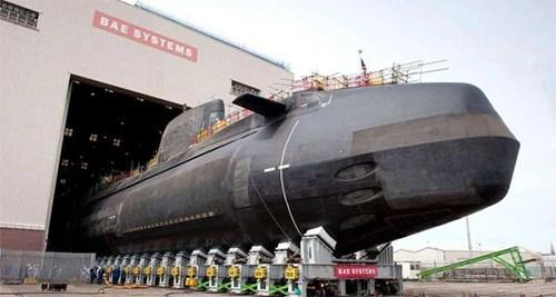 Anh đóng thêm tàu ngầm hạt nhân mới - Ảnh 2.