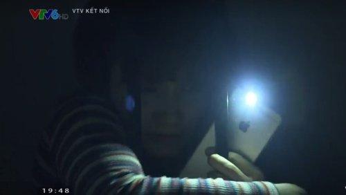 Diễn viên Bảo Thanh bị tai nạn nghiêm trọng trong lúc quay phim - Ảnh 1.