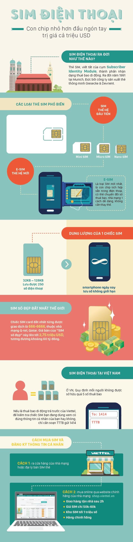 [Infographic]SIM điện thoại, con chip nhỏ hơn đầu ngón tay trị giá cả triệu USD - Ảnh 1.