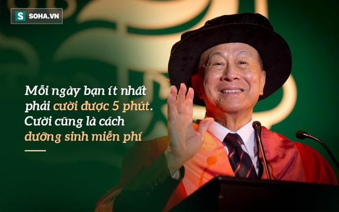 Tỉ phú Lý Gia Thành: 4 nguyên tắc để sống 90 tuổi vẫn minh mẫn, làm việc bình thường - Ảnh 2.