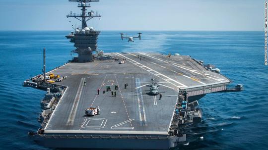 Tàu sân bay Mỹ USS Ronald Reagan áp sát Triều Tiên - Ảnh 1.