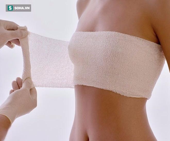 biến chứng nâng ngực